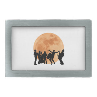 Moonlight Jazz Belt Buckles