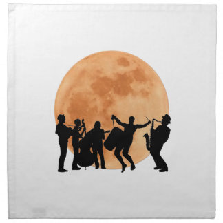 Moonlight Jazz Napkin