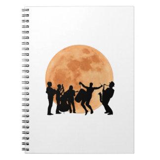 Moonlight Jazz Notebook