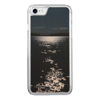 Moonlight lake carved iPhone 7 case