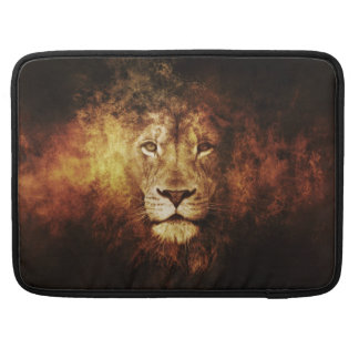 Moonlight Lion Sleeve For MacBook Pro