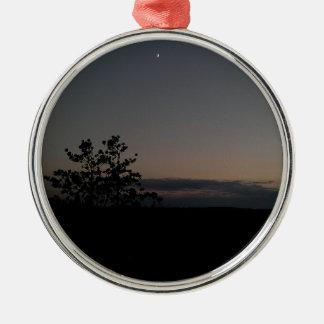 Moonlight Metal Ornament