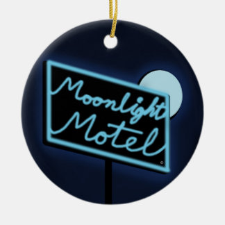 "Moonlight Motel ""Monty"" DBL Sided Ornament"