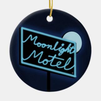 "Moonlight Motel ""Monty"" DBL Sided Ornament"
