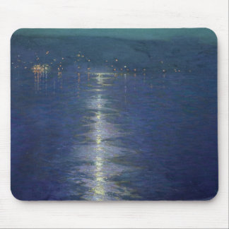 Moonlight on the River, 1919 Mouse Pad