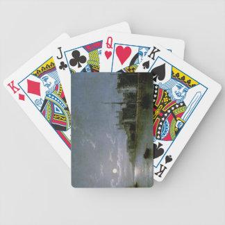 Moonlight on the Thames Poker Deck
