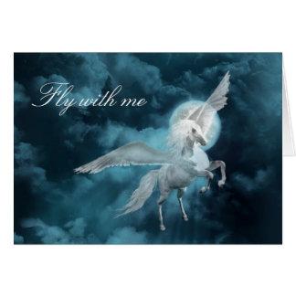 Moonlight pegasus card