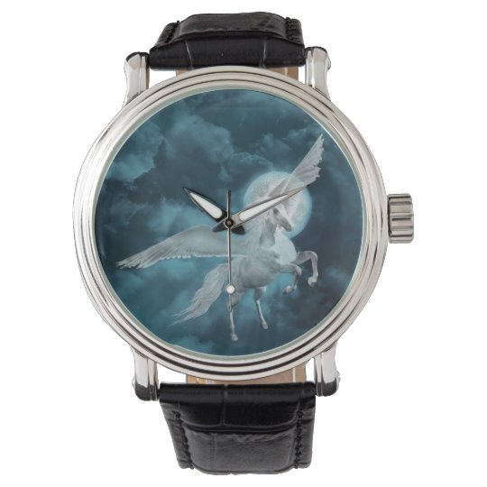 Moonlight pegasus wristwatch