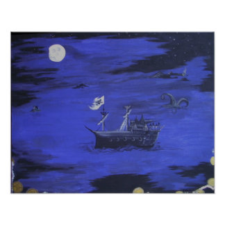 Moonlight Pirates Poster