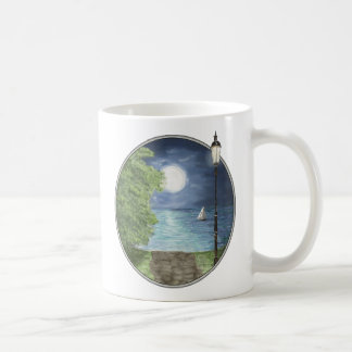 Moonlight Sail Coffee Mug