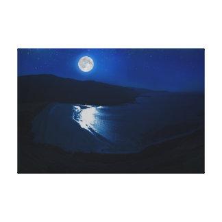 Moonlight-Scotland Canvas Print