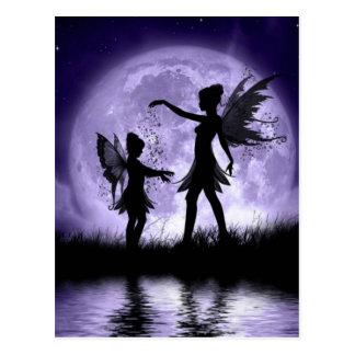 Moonlight Sihouettes Postcard