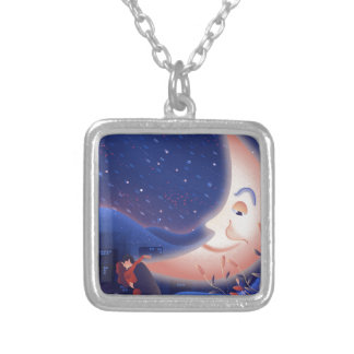 Moonlight Silver Plated Necklace