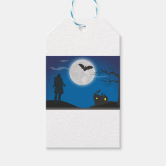 Moonlight sky pack of gift tags
