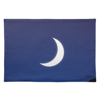 Moonlight sky placemat