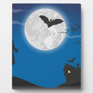 Moonlight sky plaque
