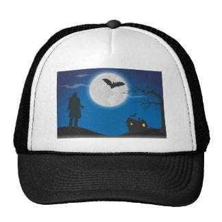 Moonlight sky trucker hat