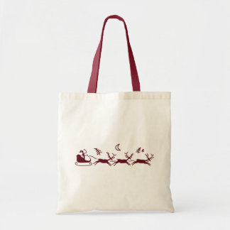 Moonlight Sleigh Ride Tote Bag