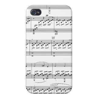 Moonlight Sonata iPhone 4 Cases