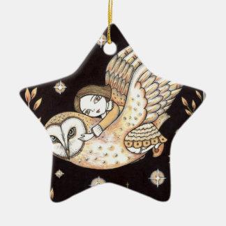 Moonlight Star Ornament