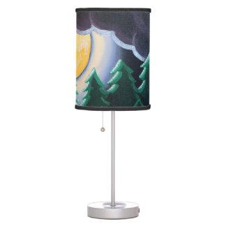 """Moonlight through the Pines"" Lamp"