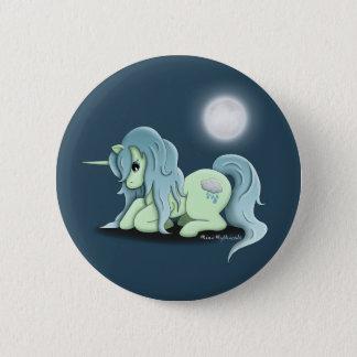 Moonlight Unicorn Button Pin