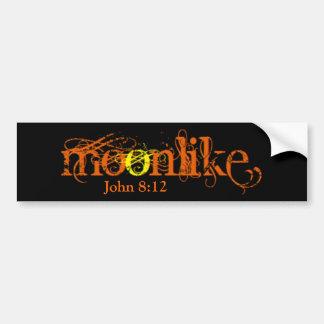 MOONLIKE Bumper Sticker