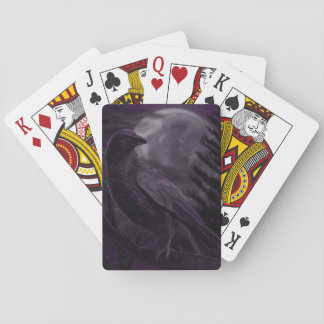Moonlit Corvid Playing Cards