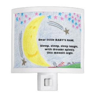 Moonlit Dreams Baby Nursery Nightlight Night Lights