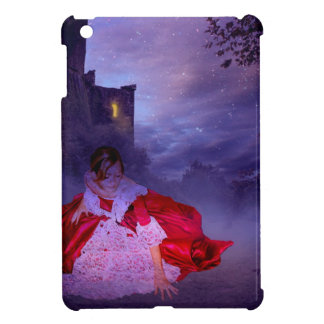 MOONLIT EVENING ~ OUTSIDE THE CASTLE WALLS iPad MINI CASE