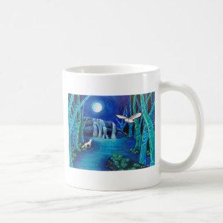 Moonlit Fantasy Forest Coffee Mug