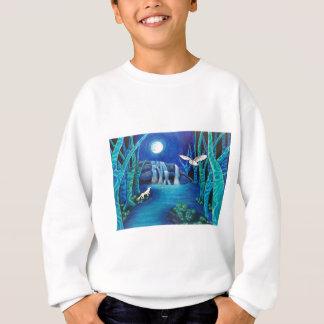 Moonlit Fantasy Forest Sweatshirt