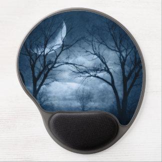 Moonlit Forest Path Gel Mousepad