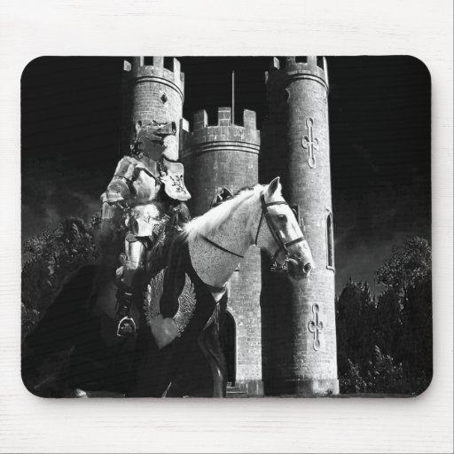 moonlit knight mouse pads