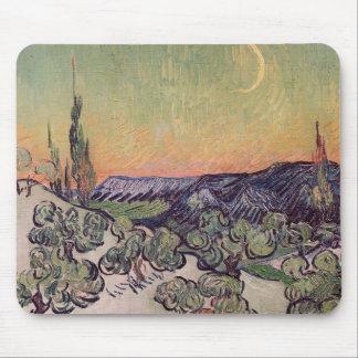 Moonlit Landscape, 1889 Mouse Pads