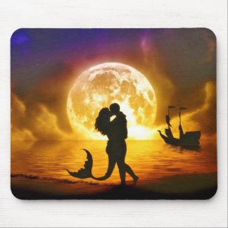 Moonlit Love Mousepad
