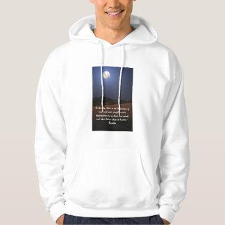 Moonlit maize field hoodie