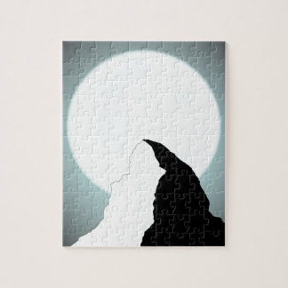 Moonlit Mountain Jigsaw Puzzle