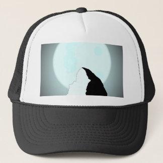 Moonlit Mountain Trucker Hat