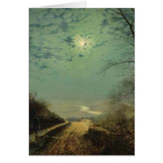 Moonlit Night Card