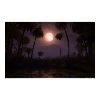 Moonlit Oasis (2012) Poster