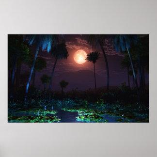 Moonlit Oasis (Illume) Poster