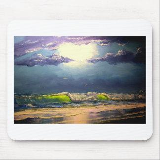 Moonlit Seascape Mouse Pad