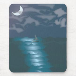 Moonlit Sky Mouse Pad