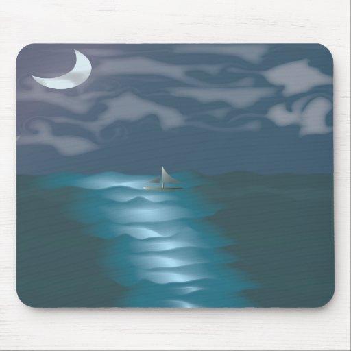 Moonlit Sky Mousepad