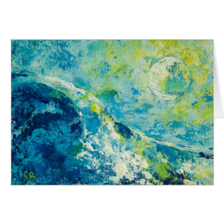 """""""Moonlit Surf"""" by Chris Rice Note Cards"""