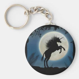 Moonlit Unicorn Keychain