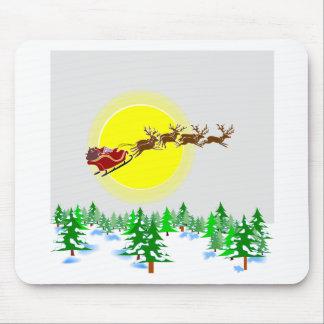Moonlite Santa Mouse Pad
