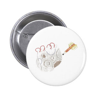 Moonpad and Pen Badge 2 Inch Round Button