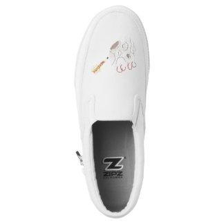 Moonpad and Pen Men's Slip On Shoes